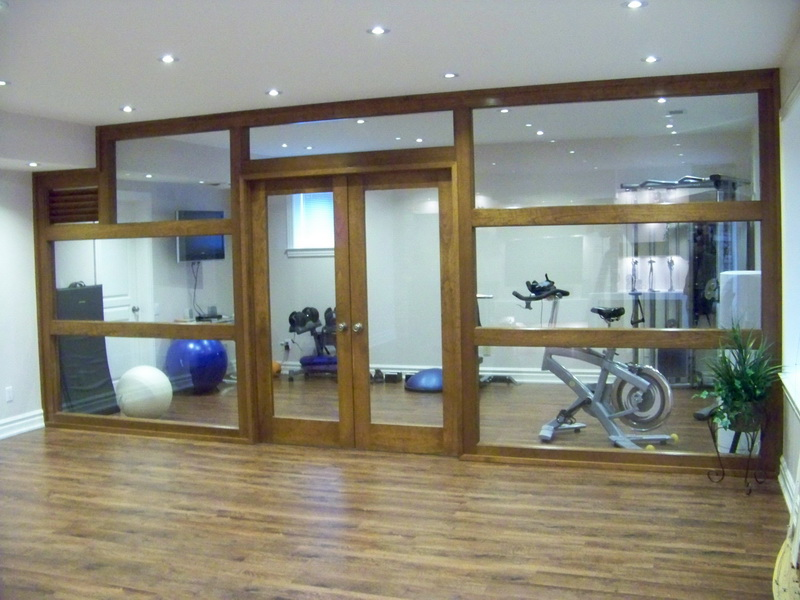 Custom Home Gym Room Toronto