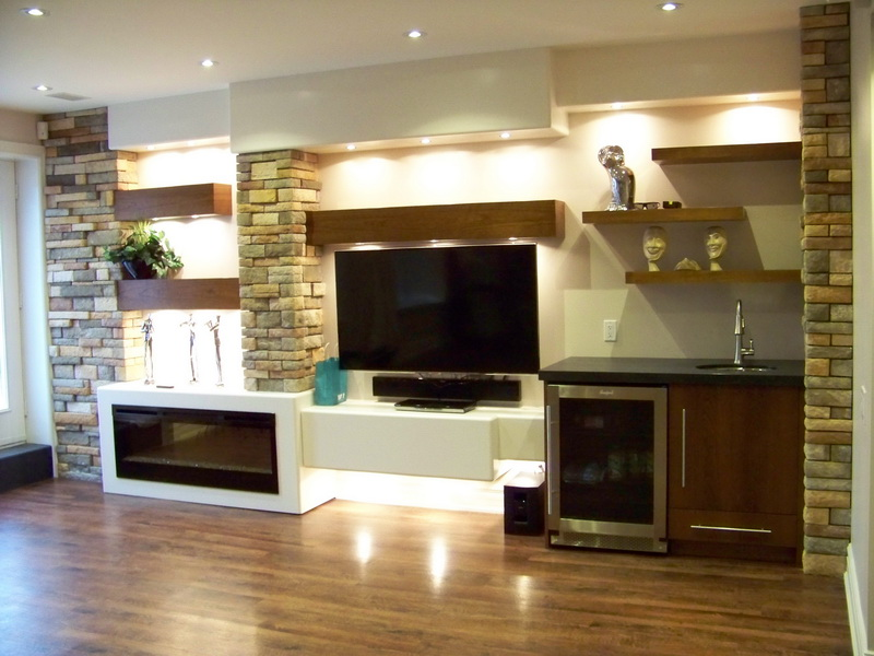Luxury Wall Unit In Toronto House
